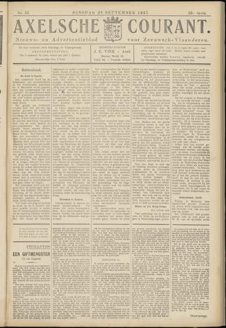 Axelsche Courant 1937-09-28