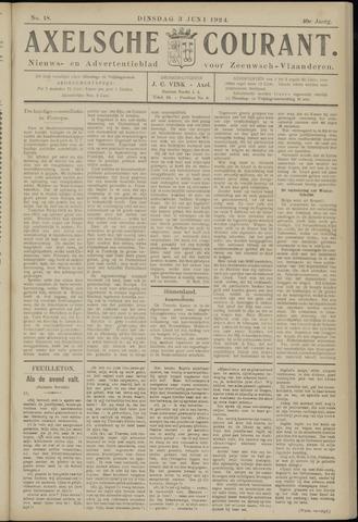Axelsche Courant 1924-06-03