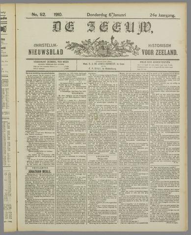 De Zeeuw. Christelijk-historisch nieuwsblad voor Zeeland 1910-01-06