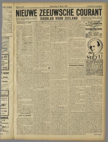 Nieuwe Zeeuwsche Courant 1921-03-09