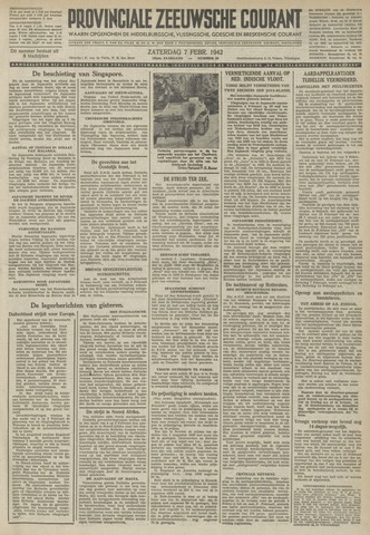 Provinciale Zeeuwse Courant 1942-02-07