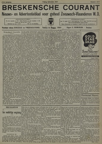 Breskensche Courant 1937-10-08