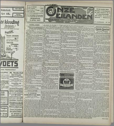 Onze Eilanden 1927-04-06