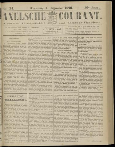 Axelsche Courant 1920-08-04
