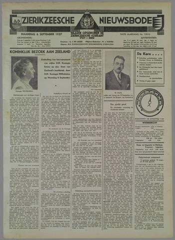 Zierikzeesche Nieuwsbode 1937-09-06