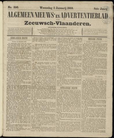 Ter Neuzensche Courant. Algemeen Nieuws- en Advertentieblad voor Zeeuwsch-Vlaanderen / Neuzensche Courant ... (idem) / (Algemeen) nieuws en advertentieblad voor Zeeuwsch-Vlaanderen 1868