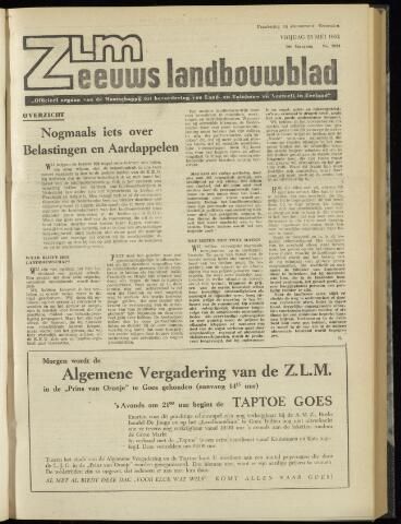 Zeeuwsch landbouwblad ... ZLM land- en tuinbouwblad 1962-05-25