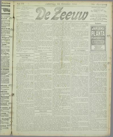 De Zeeuw. Christelijk-historisch nieuwsblad voor Zeeland 1919-10-25