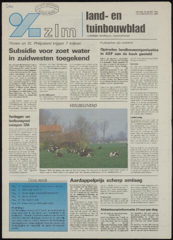 Zeeuwsch landbouwblad ... ZLM land- en tuinbouwblad 1991-03-29