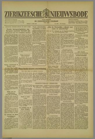 Zierikzeesche Nieuwsbode 1952-04-11