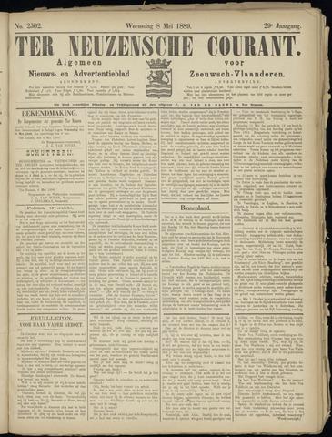 Ter Neuzensche Courant. Algemeen Nieuws- en Advertentieblad voor Zeeuwsch-Vlaanderen / Neuzensche Courant ... (idem) / (Algemeen) nieuws en advertentieblad voor Zeeuwsch-Vlaanderen 1889-05-08
