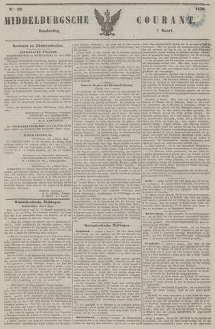 Middelburgsche Courant 1850-03-07