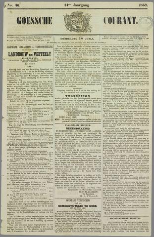 Goessche Courant 1857-06-18