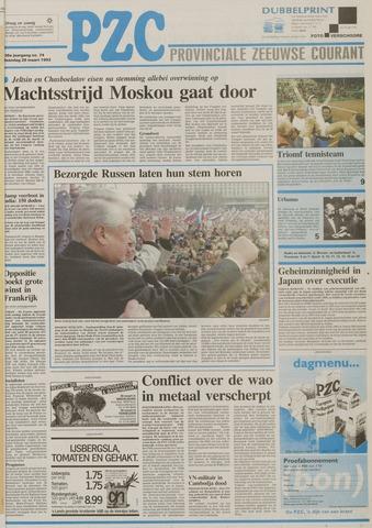 Provinciale Zeeuwse Courant 1993-03-29