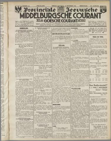 Middelburgsche Courant 1934-09-25