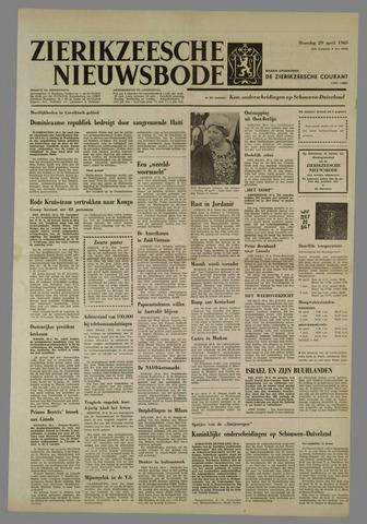 Zierikzeesche Nieuwsbode 1963-04-29
