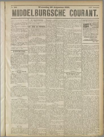 Middelburgsche Courant 1922-08-30