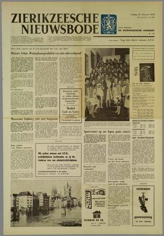 Zierikzeesche Nieuwsbode 1970-02-27