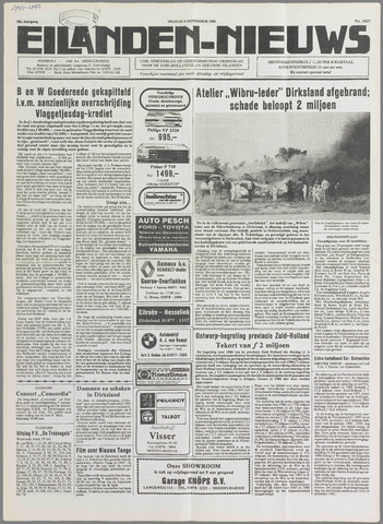Eilanden-nieuws. Christelijk streekblad op gereformeerde grondslag 1985-09-06