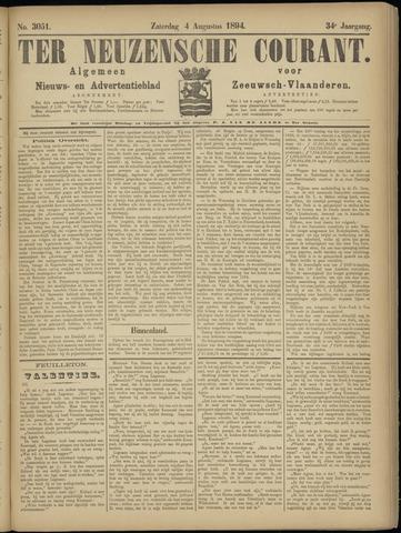 Ter Neuzensche Courant. Algemeen Nieuws- en Advertentieblad voor Zeeuwsch-Vlaanderen / Neuzensche Courant ... (idem) / (Algemeen) nieuws en advertentieblad voor Zeeuwsch-Vlaanderen 1894-08-04