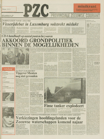 Provinciale Zeeuwse Courant 1977-06-28