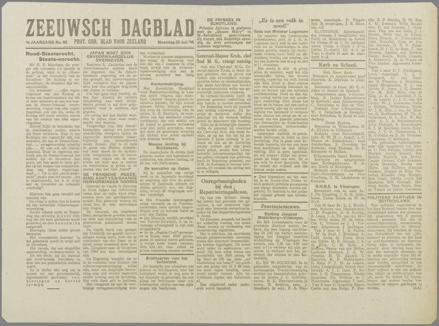 Zeeuwsch Dagblad 1945-07-23