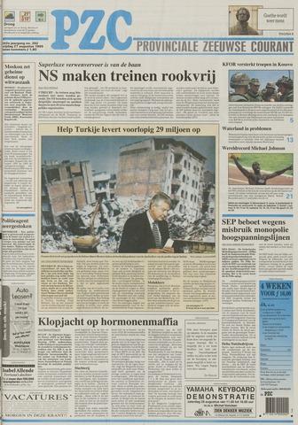 Provinciale Zeeuwse Courant 1999-08-27