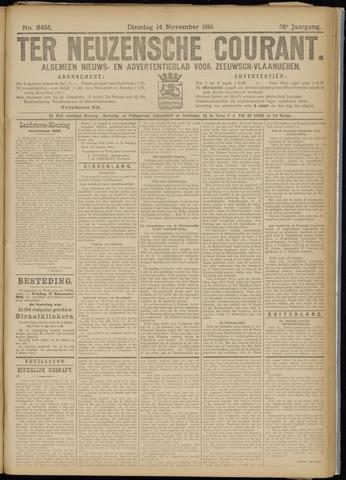 Ter Neuzensche Courant. Algemeen Nieuws- en Advertentieblad voor Zeeuwsch-Vlaanderen / Neuzensche Courant ... (idem) / (Algemeen) nieuws en advertentieblad voor Zeeuwsch-Vlaanderen 1916-11-14