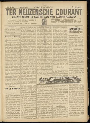 Ter Neuzensche Courant. Algemeen Nieuws- en Advertentieblad voor Zeeuwsch-Vlaanderen / Neuzensche Courant ... (idem) / (Algemeen) nieuws en advertentieblad voor Zeeuwsch-Vlaanderen 1934-10-05