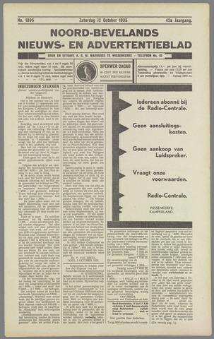 Noord-Bevelands Nieuws- en advertentieblad 1935-10-12