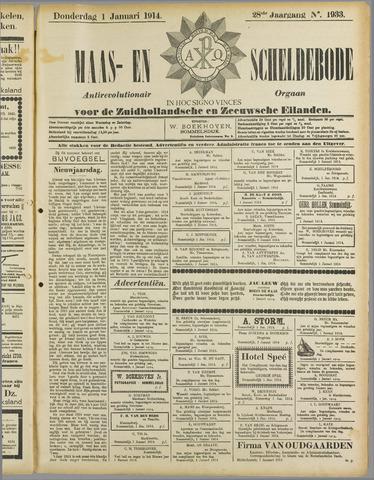 Maas- en Scheldebode 1914