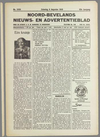 Noord-Bevelands Nieuws- en advertentieblad 1949-08-06