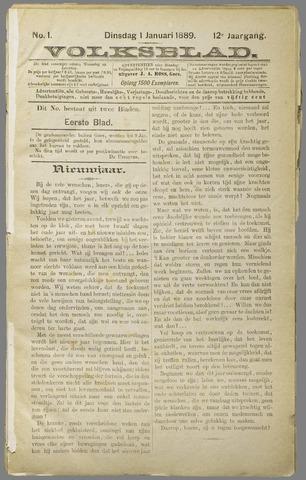 Volksblad 1889