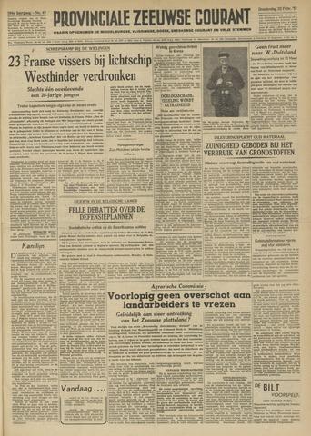 Provinciale Zeeuwse Courant 1951-02-22