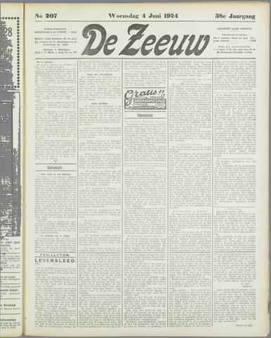 De Zeeuw. Christelijk-historisch nieuwsblad voor Zeeland 1924-06-04