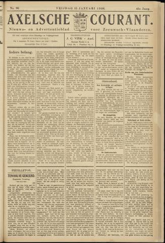 Axelsche Courant 1926-01-15
