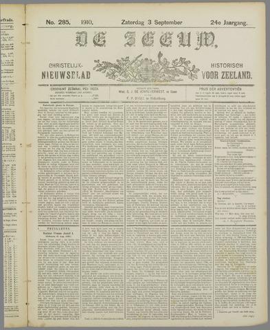 De Zeeuw. Christelijk-historisch nieuwsblad voor Zeeland 1910-09-03