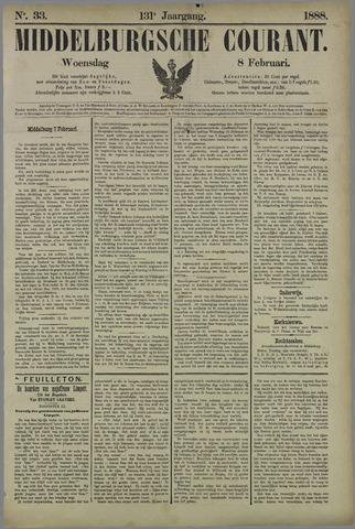 Middelburgsche Courant 1888-02-08