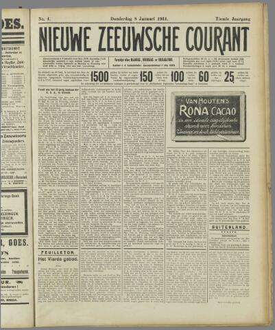 Nieuwe Zeeuwsche Courant 1914-01-08