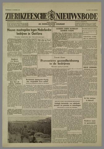 Zierikzeesche Nieuwsbode 1958-10-16