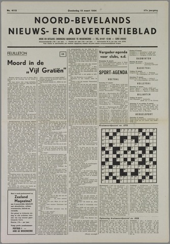 Noord-Bevelands Nieuws- en advertentieblad 1984-03-15