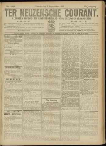 Ter Neuzensche Courant. Algemeen Nieuws- en Advertentieblad voor Zeeuwsch-Vlaanderen / Neuzensche Courant ... (idem) / (Algemeen) nieuws en advertentieblad voor Zeeuwsch-Vlaanderen 1915-09-02
