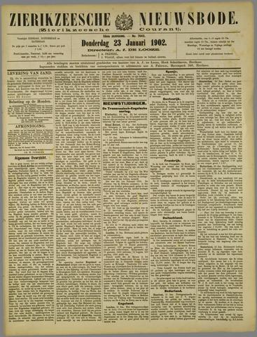 Zierikzeesche Nieuwsbode 1902-01-23