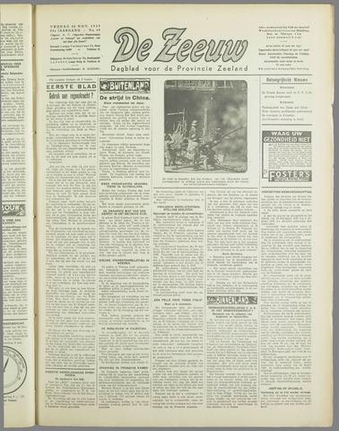 De Zeeuw. Christelijk-historisch nieuwsblad voor Zeeland 1937-11-26