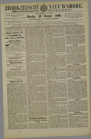 Zierikzeesche Nieuwsbode 1900-10-30