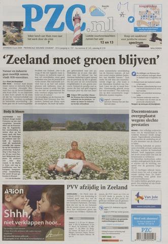 Provinciale Zeeuwse Courant 2009-06-06