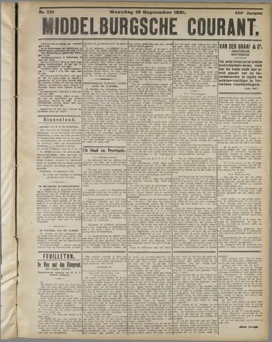 Middelburgsche Courant 1921-09-19