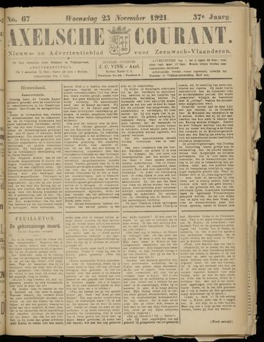 Axelsche Courant 1921-11-23