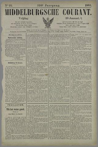 Middelburgsche Courant 1883-01-26
