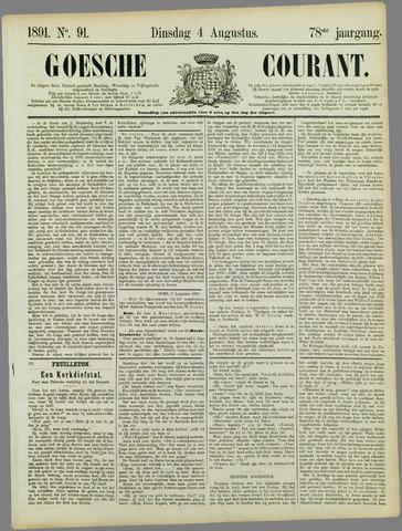 Goessche Courant 1891-08-04